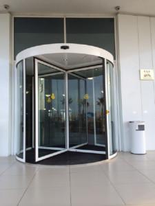 Sochi rotating door