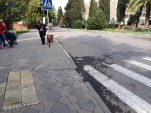 Sochi street & curb
