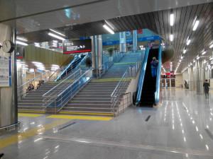 Sochi staircase and escalator