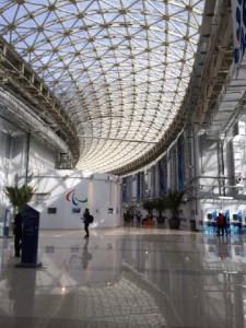 Sochi Main Media Center lobby
