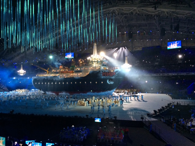 Sochi Paralympic Winter Games Opening Night
