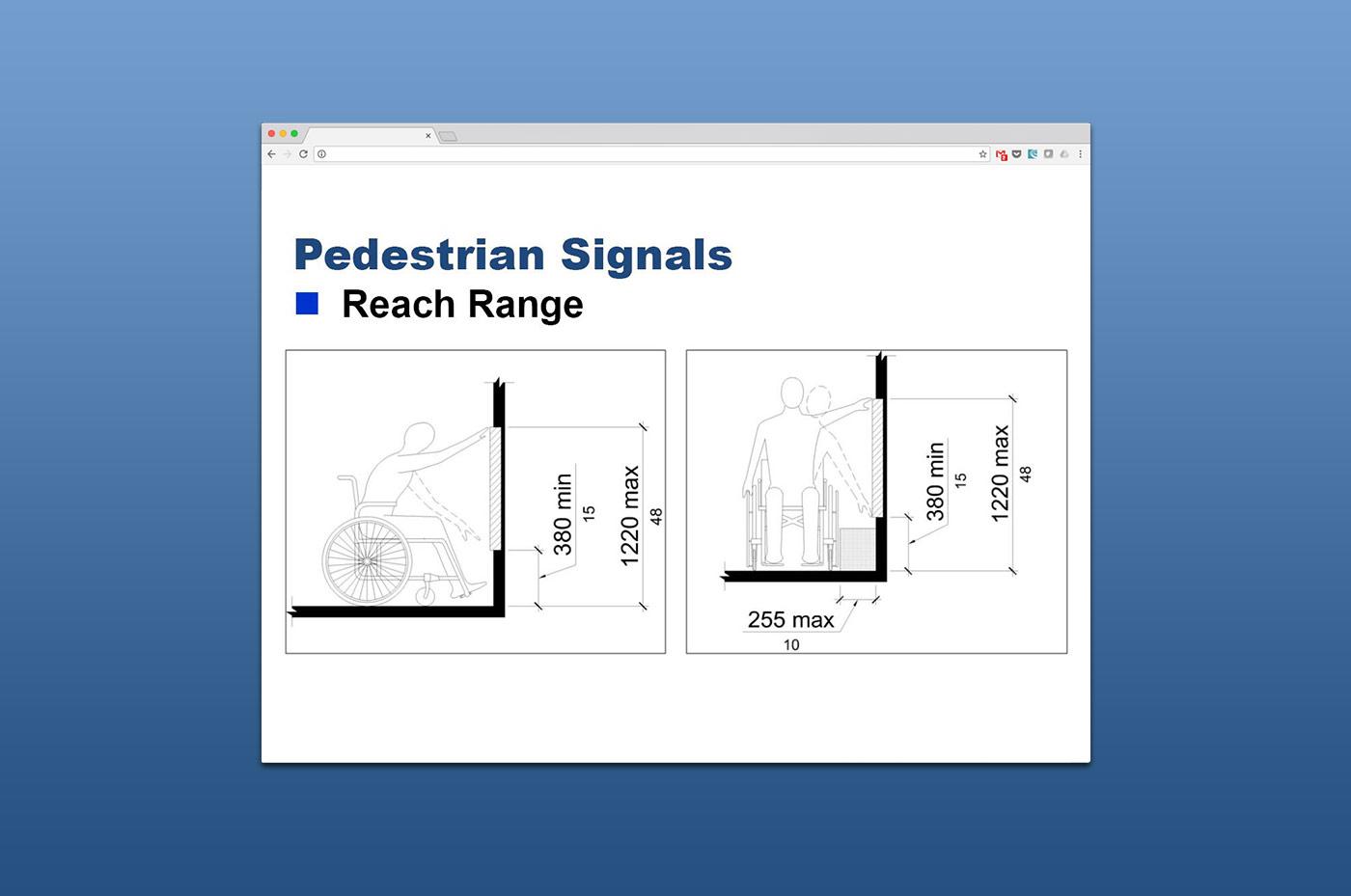 Webinars - Pedestrian Signals slide