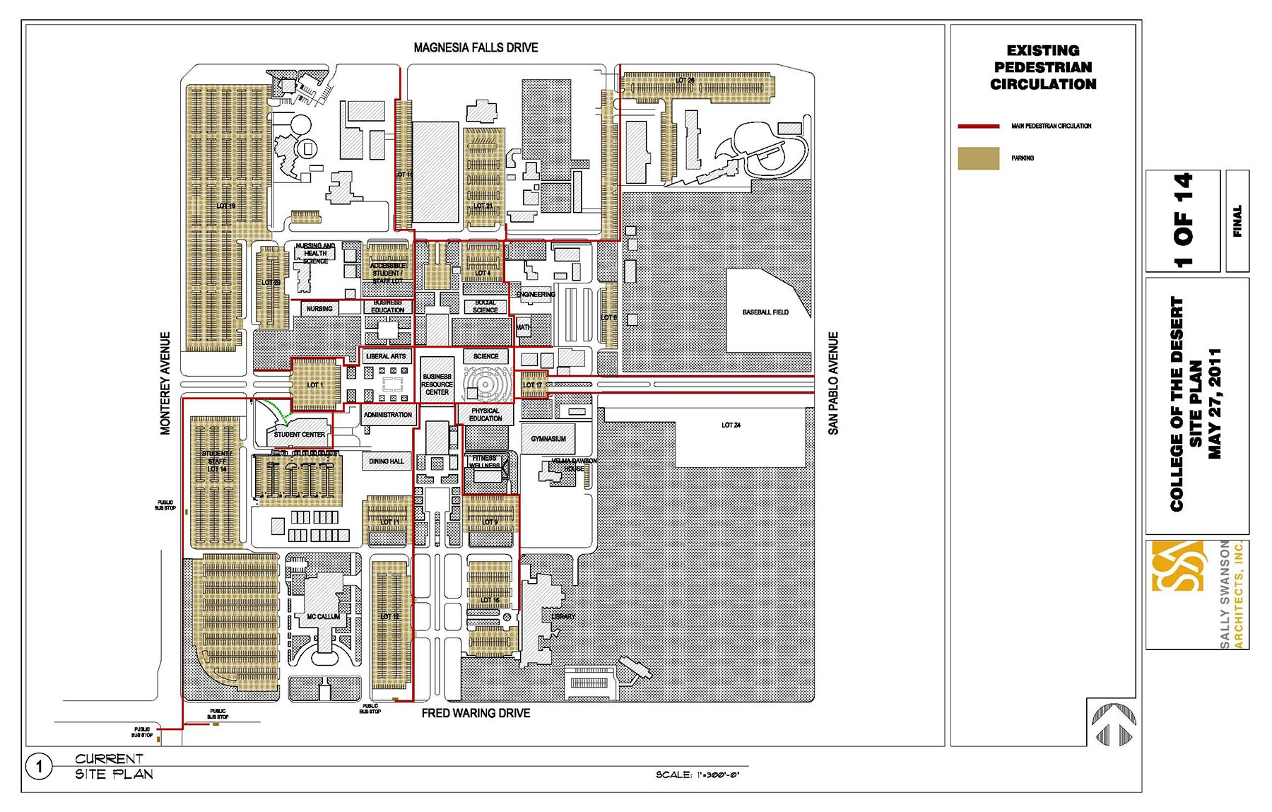Planning and Pre-design Services - College of the Desert Site Plan