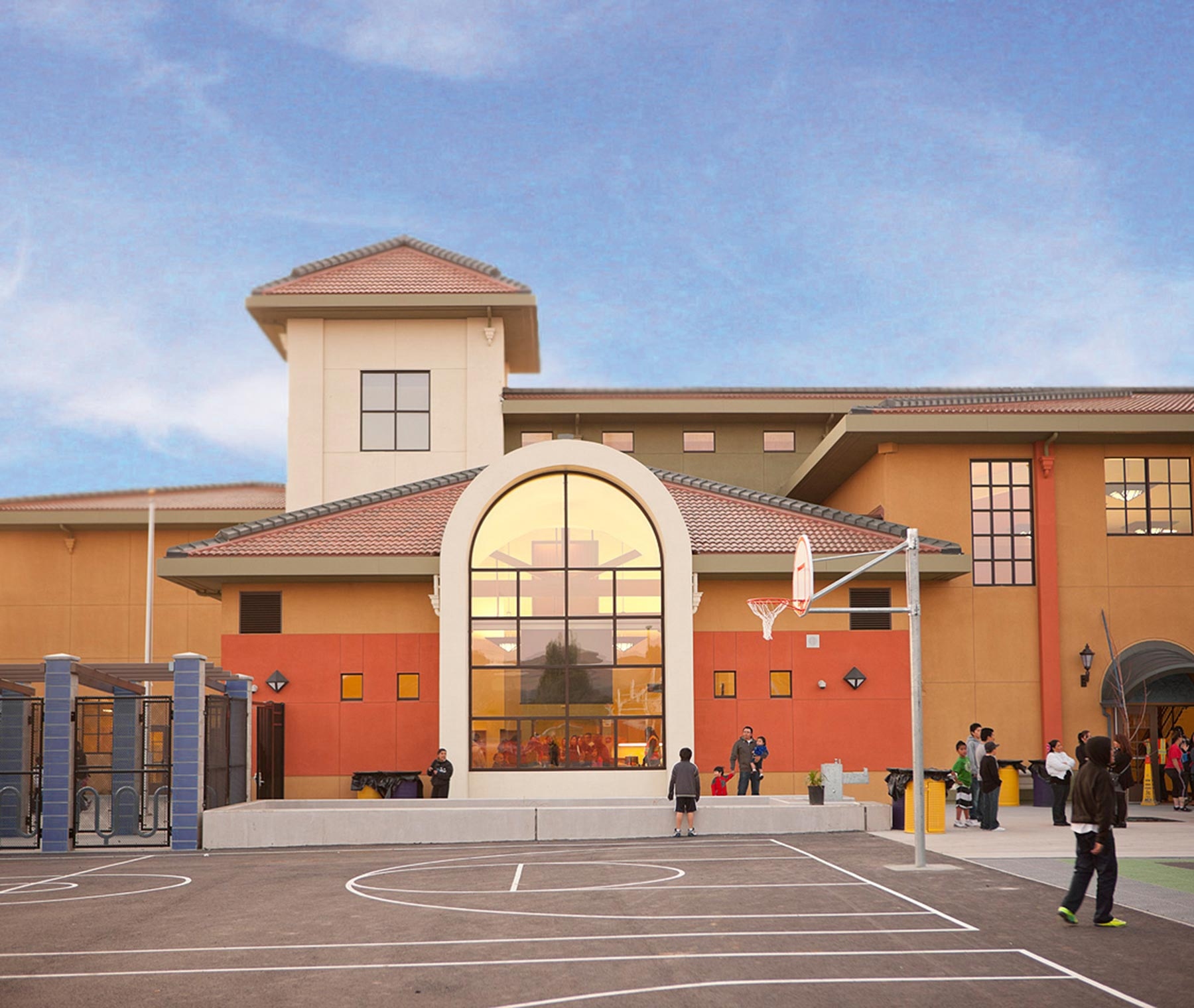 New Construction - Ford Elementary School Exterior