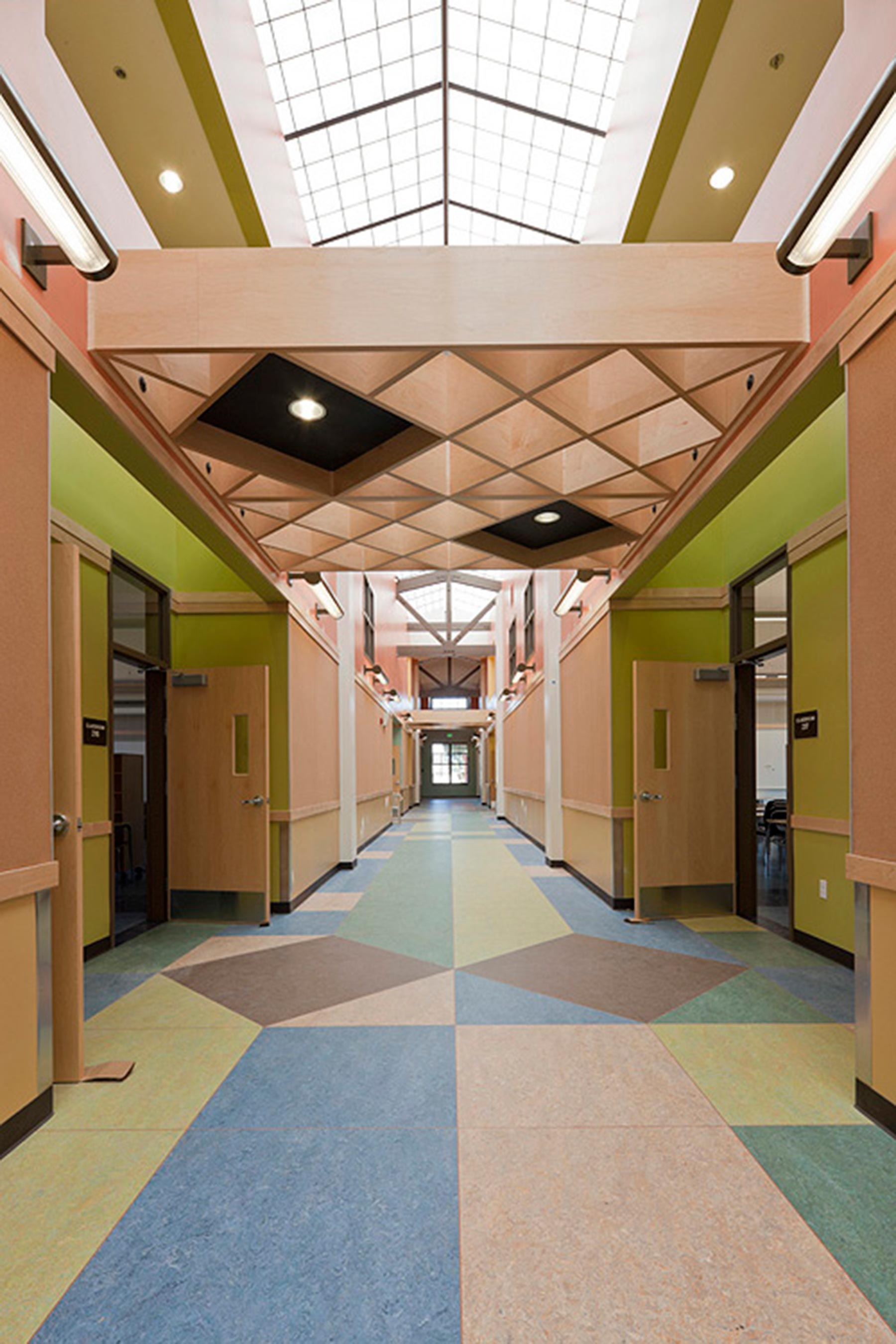 New Construction - Ford Elementary School Interior