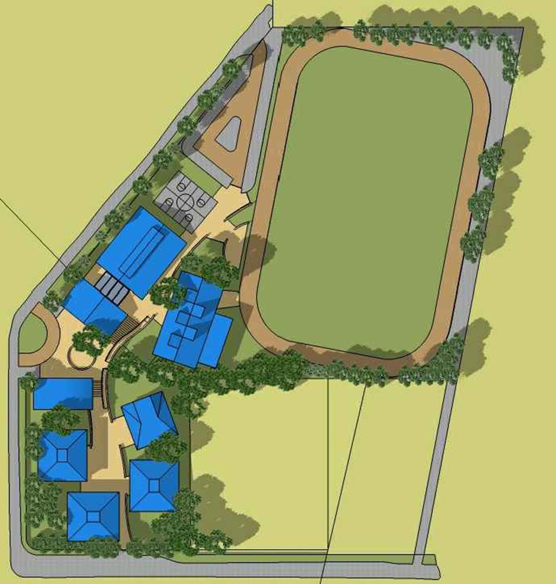 Planning and Pre-design Services - Scotts Valley Site Plan