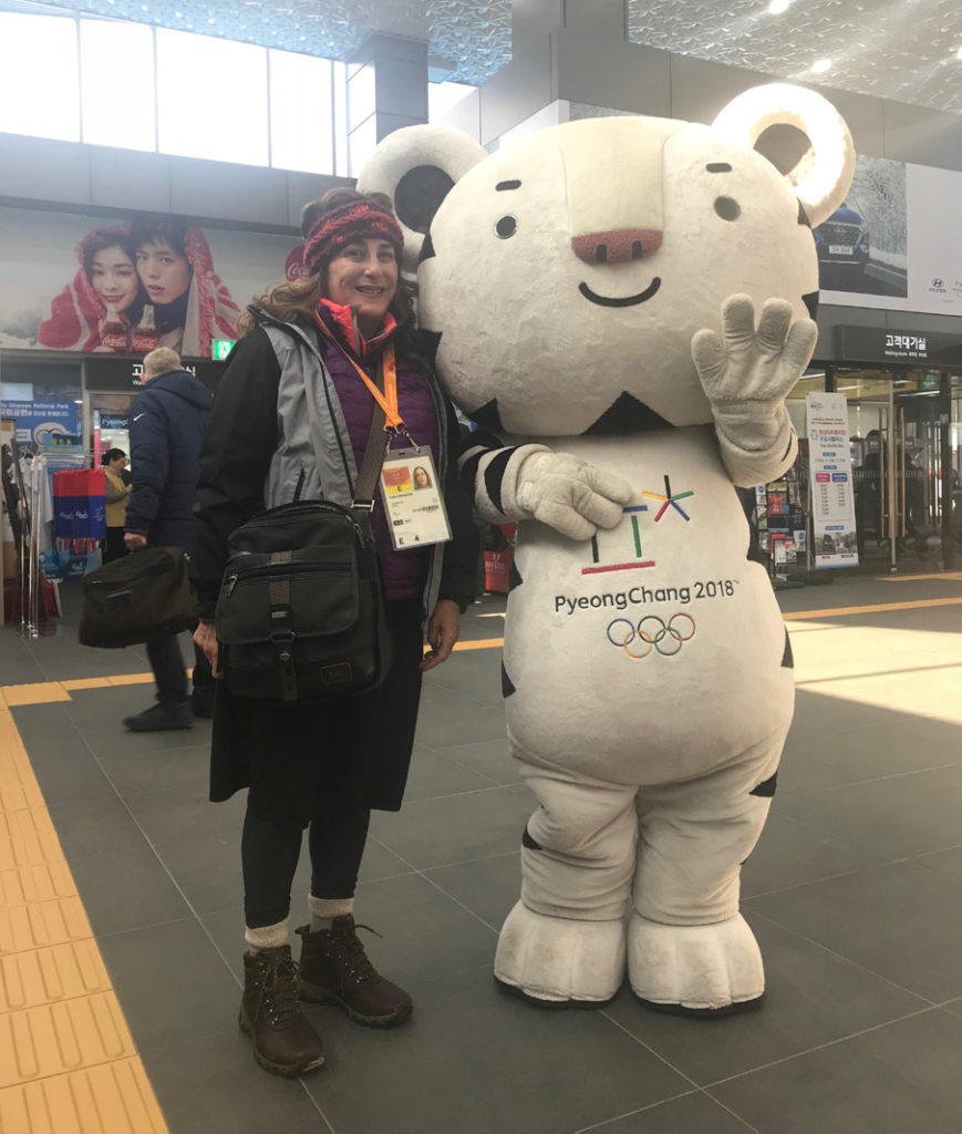 Sally at the PyeongChang Paralympics 2018