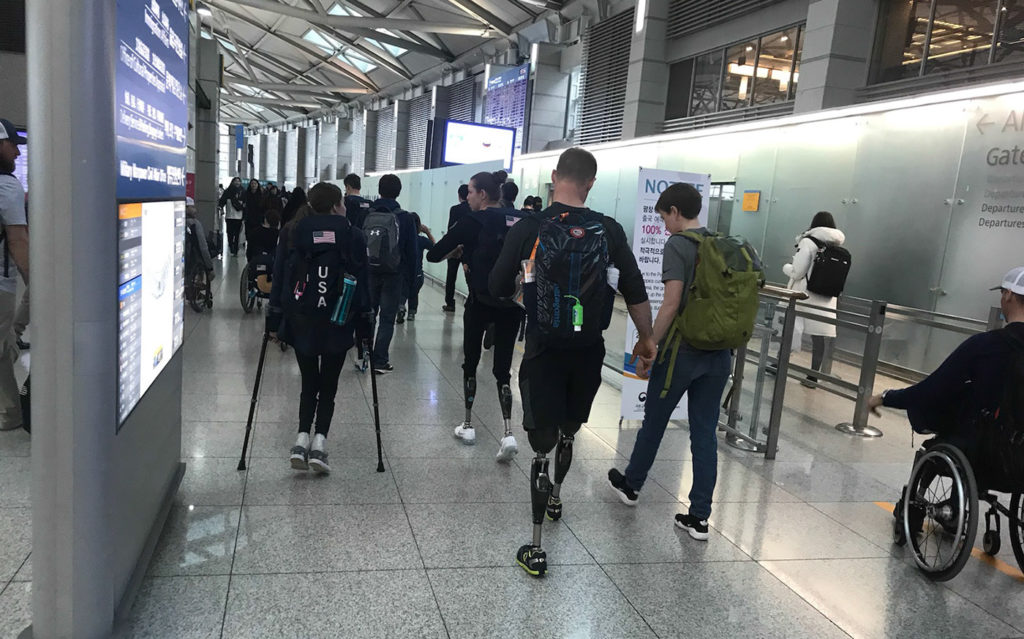 PyeongChang Paralympics 2018 Photo - Going Home