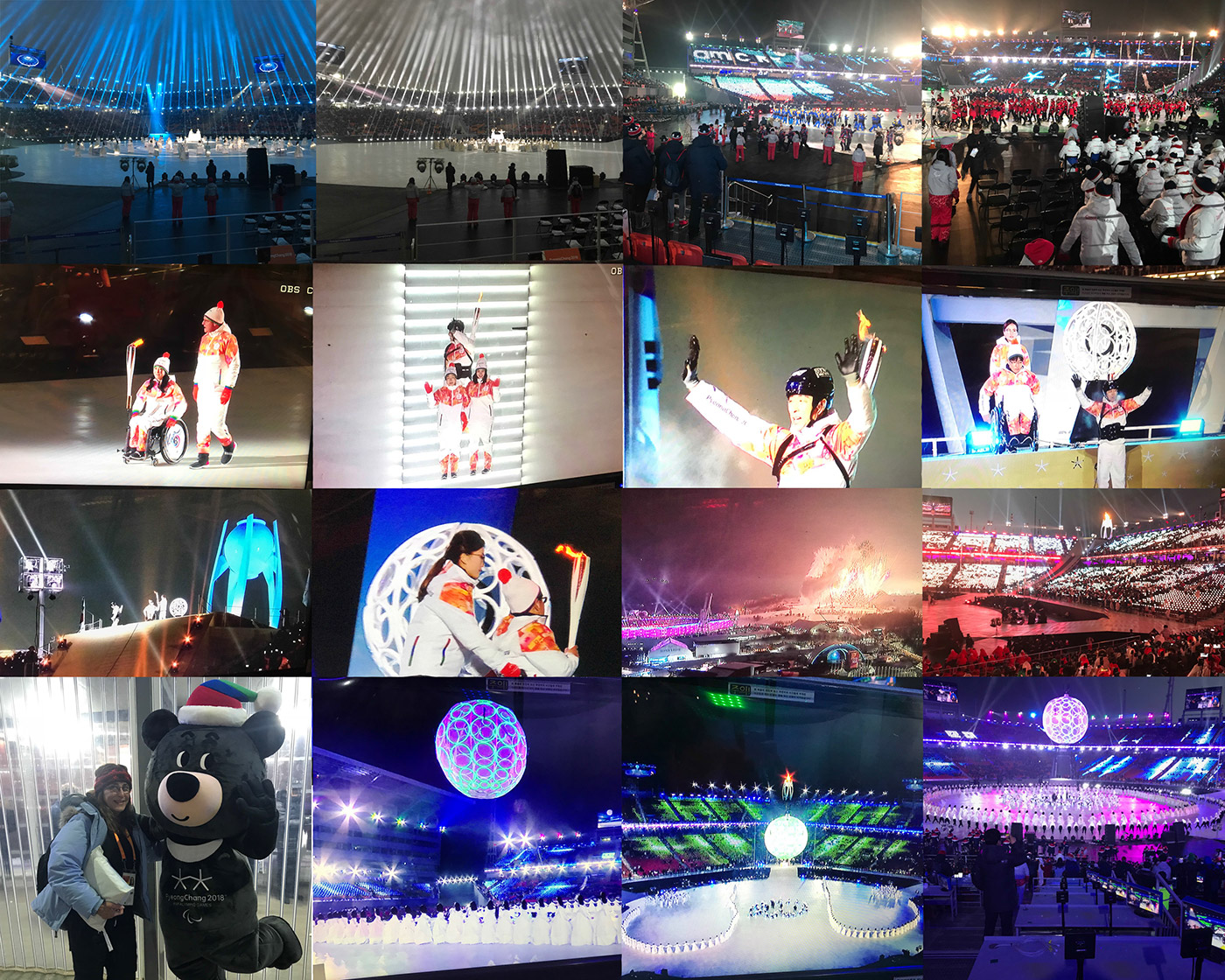 PyeongChang Paralympics 2018 Photo Montage 3 - Opening Ceremony