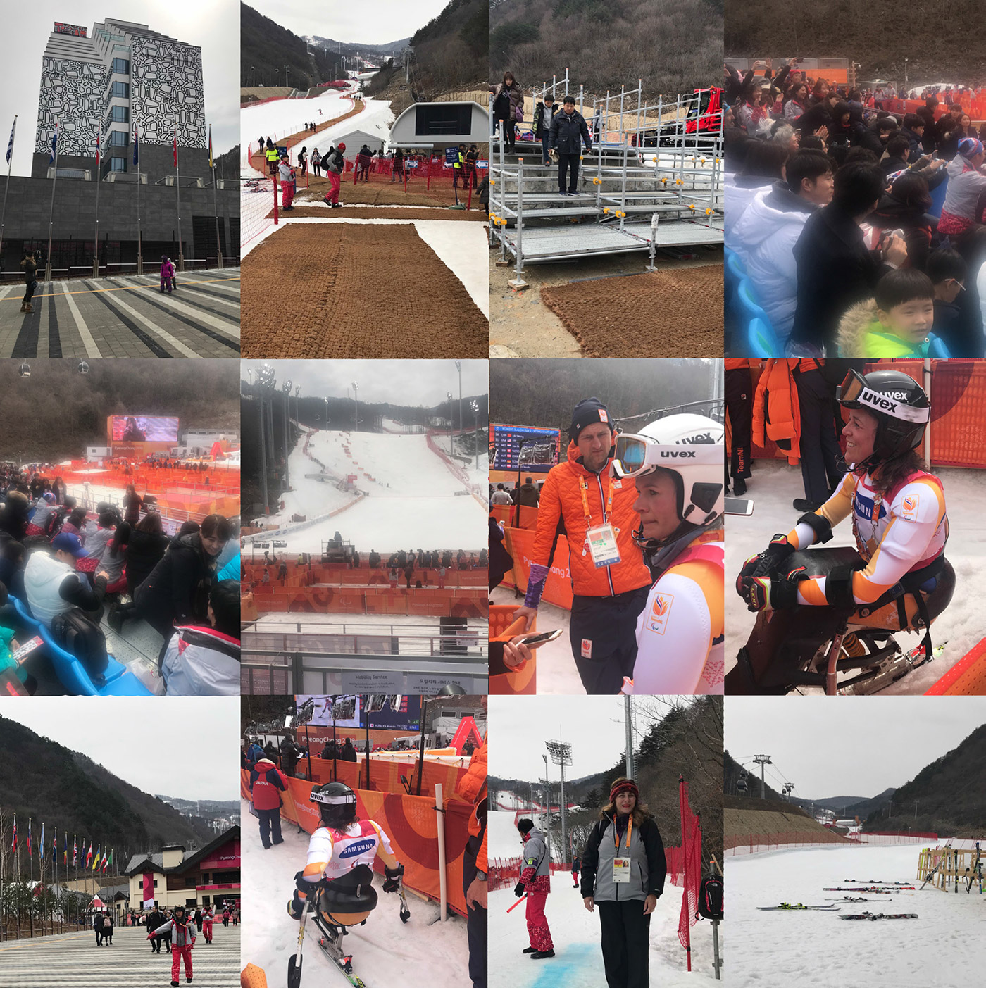 PyeongChang Paralympics 2018 Photo Montage 4 - Alpine Village