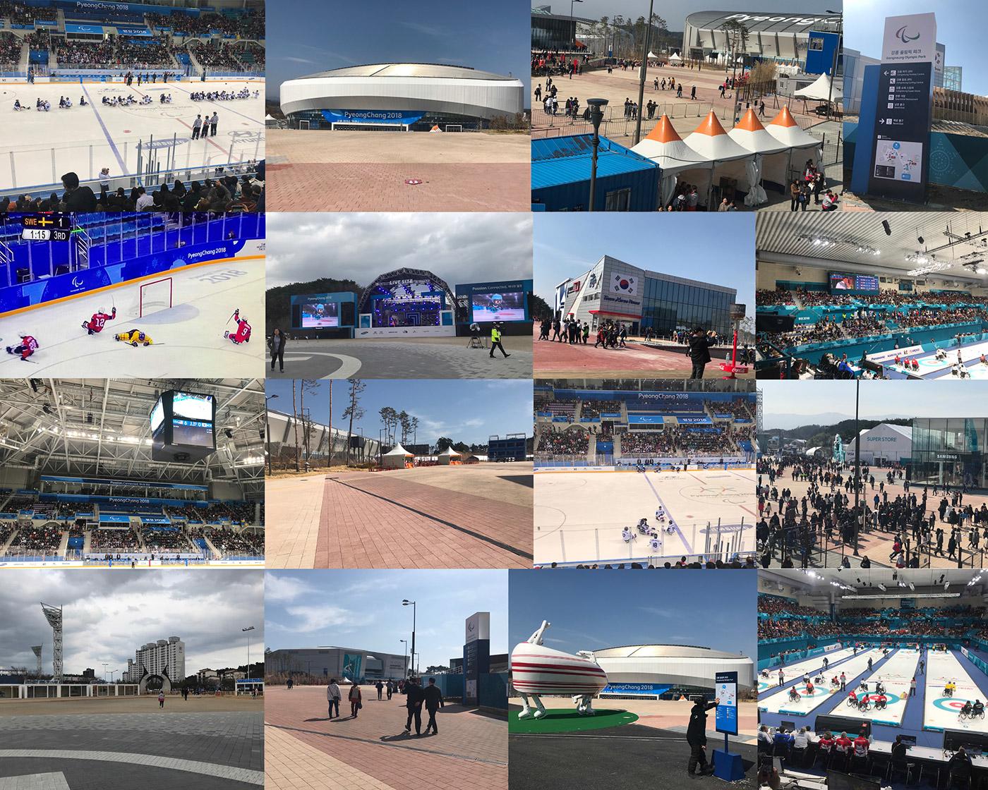 PyeongChang Paralympics 2018 Photo Montage 5 - Gangneung Coastal Cluster