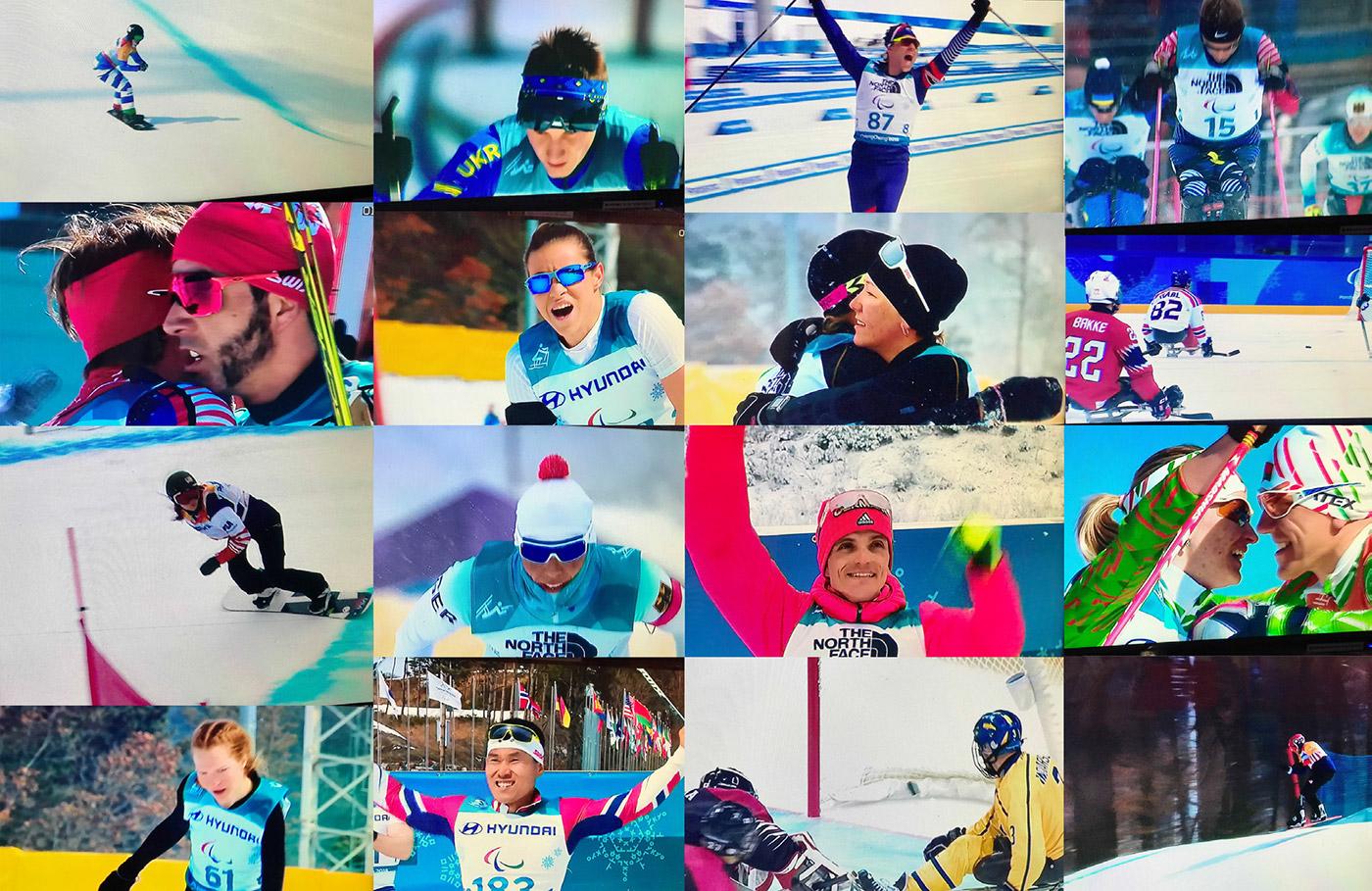 PyeongChang Paralympics 2018 Photo Montage 7 - Paralympic Athletes