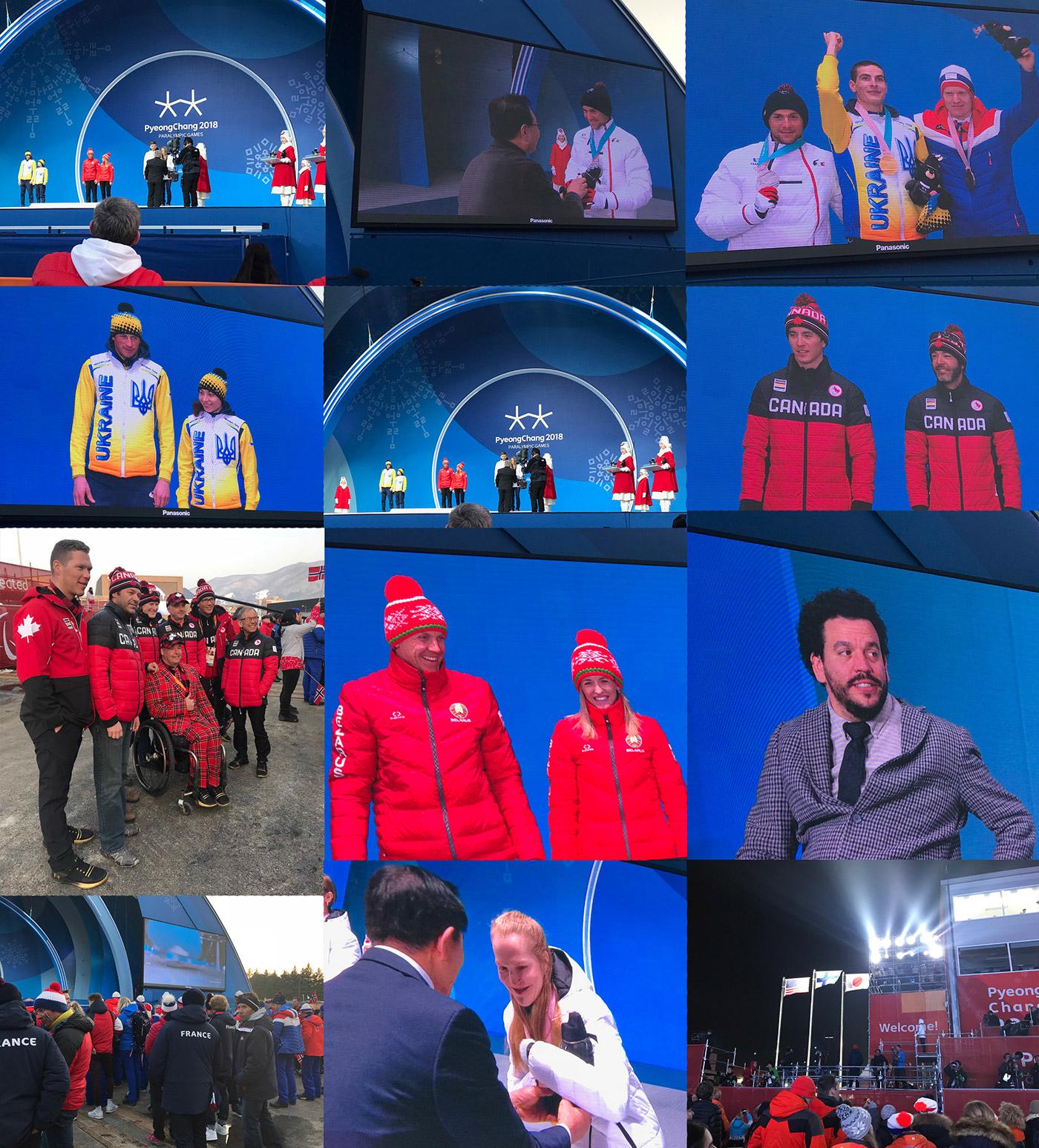PyeongChang Paralympics 2018 Photo Montage 8 - Paralympic Medal Plaza