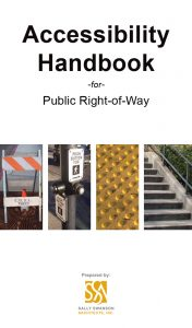 SSA Accessibility Handbook for Public Right-of-Way Cover Image